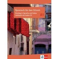 Produktbild Spanisch für den Urlaub A1. Lehrbuch mit Audio-CD,