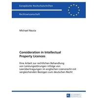 Produktbild Consideration in Intellectual Property Licences