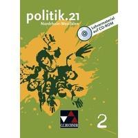 Produktbild politik.21 Band 2 Nordrhein-Westfalen Lehrermaterial