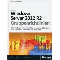 Produktbild Windows Server 2012- und Windows 8-Gruppenrichtlinien