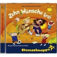 Produktbild Zehn Wünsche frei!, Audio-CD (Zehn neue Lieder aus Kinderwünschen gema